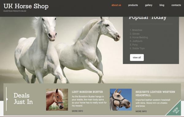 UK Horse Shop