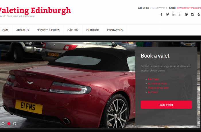 City Valet Edinburgh