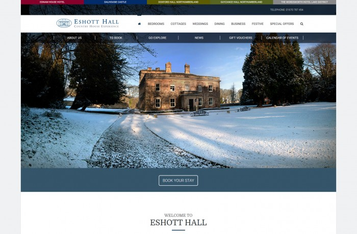 Eshott Hall Boutique Hotel