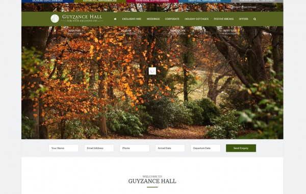 Guyzance Hall Exclusive House
